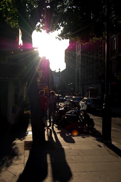 Street glare